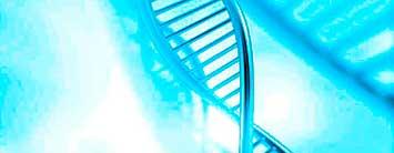 Imagen cadena ADN. Terapia regeneracion articular con colágeno.